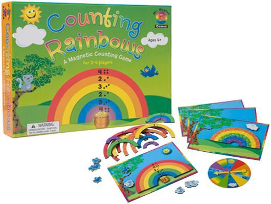 Counting Rainbows Magnetic Counting Game