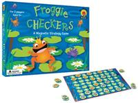 Froggy Checkers Game