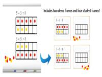 Ten Frames Magnet Set