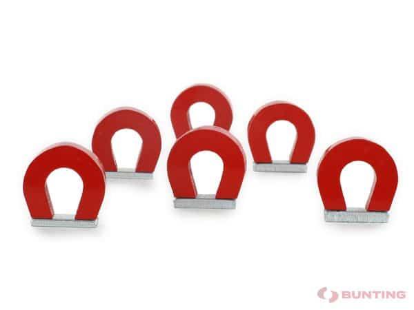 Multiple red pocket magnets
