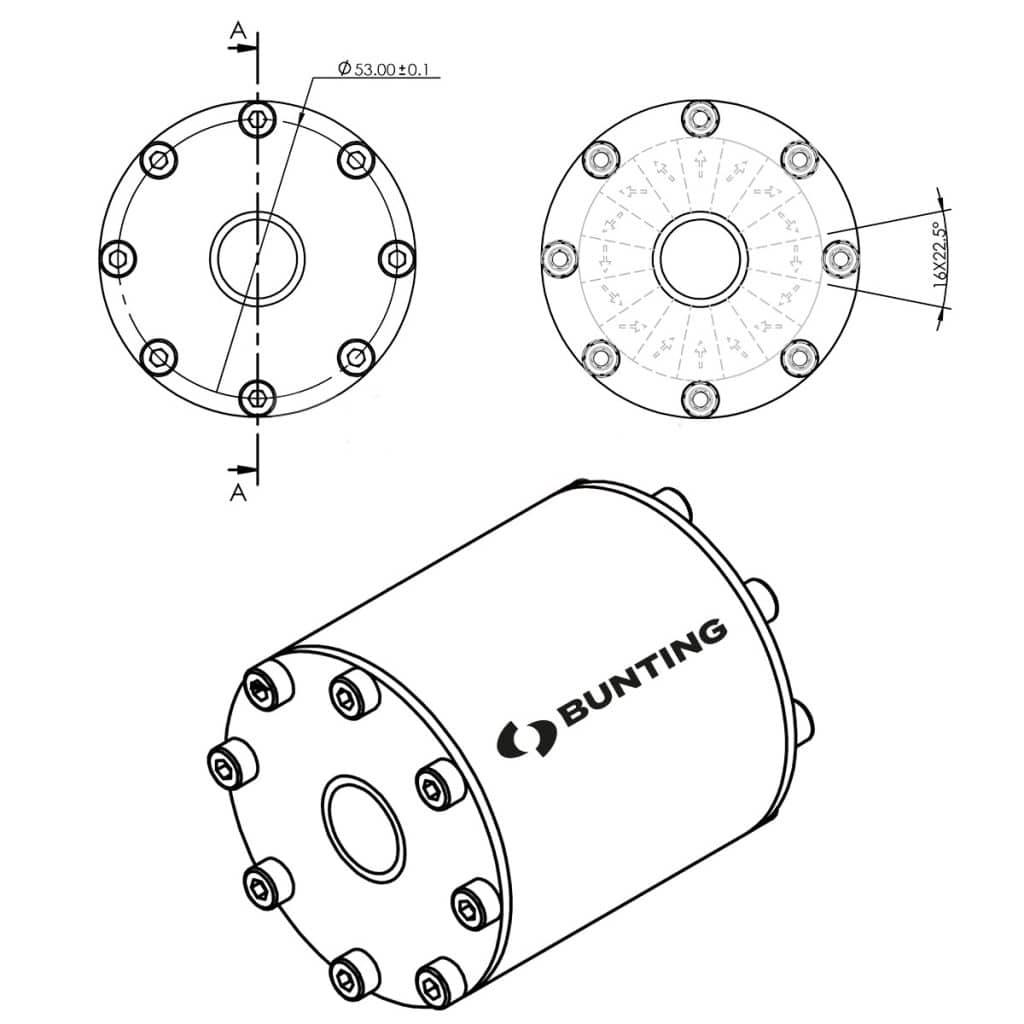 Bunting magnet sketch